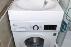 Раковина на стиральной машиной